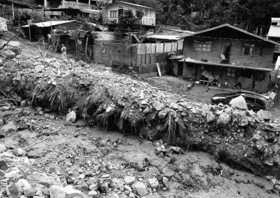 These mudslides were provoked by hurricane Tomas which unleashed powerful rains on the region.