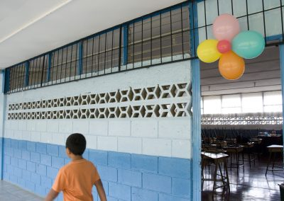 On 17 November, the school organized an event  to welcome the children back.